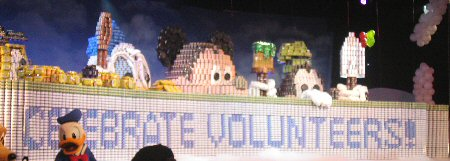 World's Largest Canned Food Sculpture