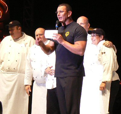 Chef Robert Irvine and Company
