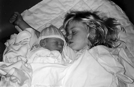 Baby Alex and his Big Sister