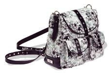 The Rachel handbag by Gigi Hill, Fleur de Lis pattern