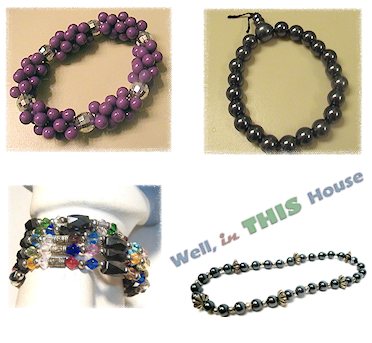Handmade Bracelets from grandbigdog on etsy