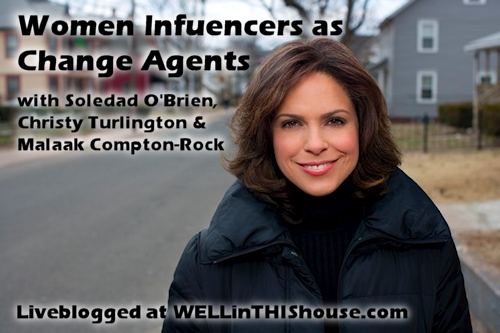 Women Influencers as Change Agents - BlogHer 2012