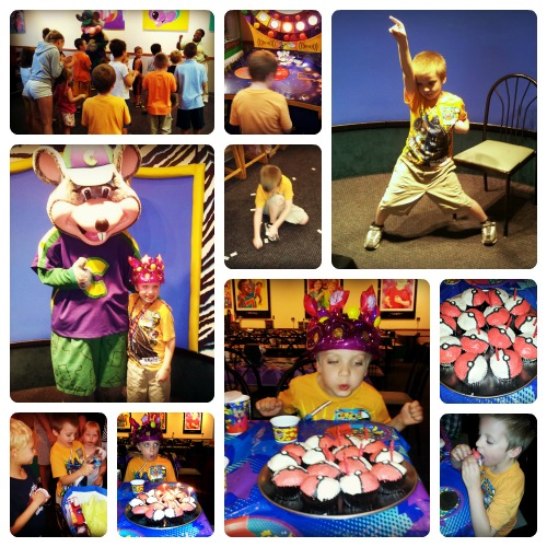 TJ's 7th Birthday Party Collage