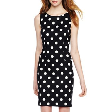 Alyx Black and White Sheath Dress
