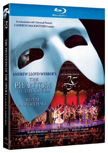 phantom 25th anniversary dvd