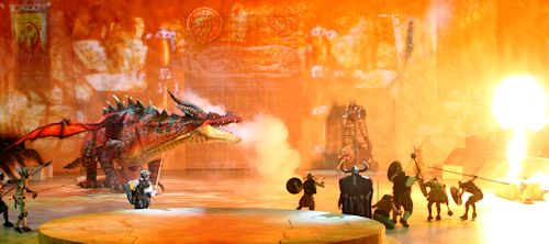 Fiery Fun At Dreamworks How To Train Your Dragon Live In