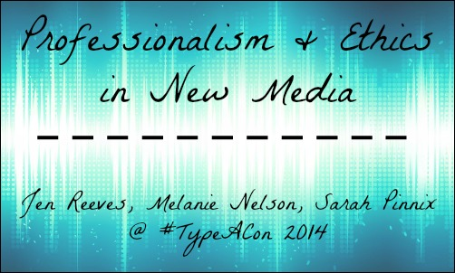 new media and ethical disconnect It's been a busy news year, and from the perspective of media ethics, there has been a lot to cover below, read imediaethics list of the top 10 media ethics issues of 2015 (for reference, here's .